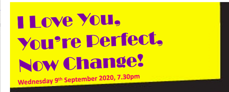I Love You, You're Perfect, Now Change!
