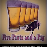 Five Pints and a Pig