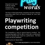YOUR NEWS<br />SCDA Playwriting competition