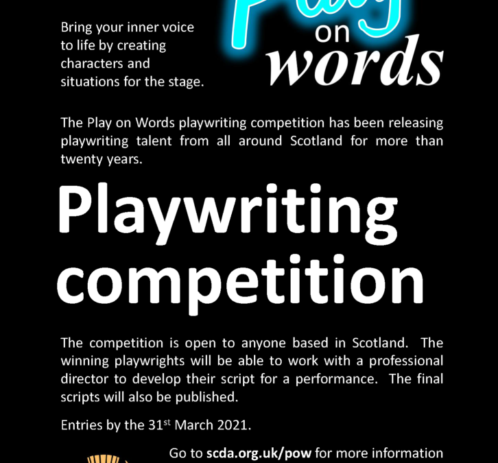 YOUR NEWSSCDA Playwriting competition