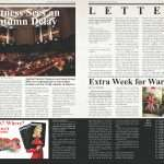 YOUR NEWS – LETTERS