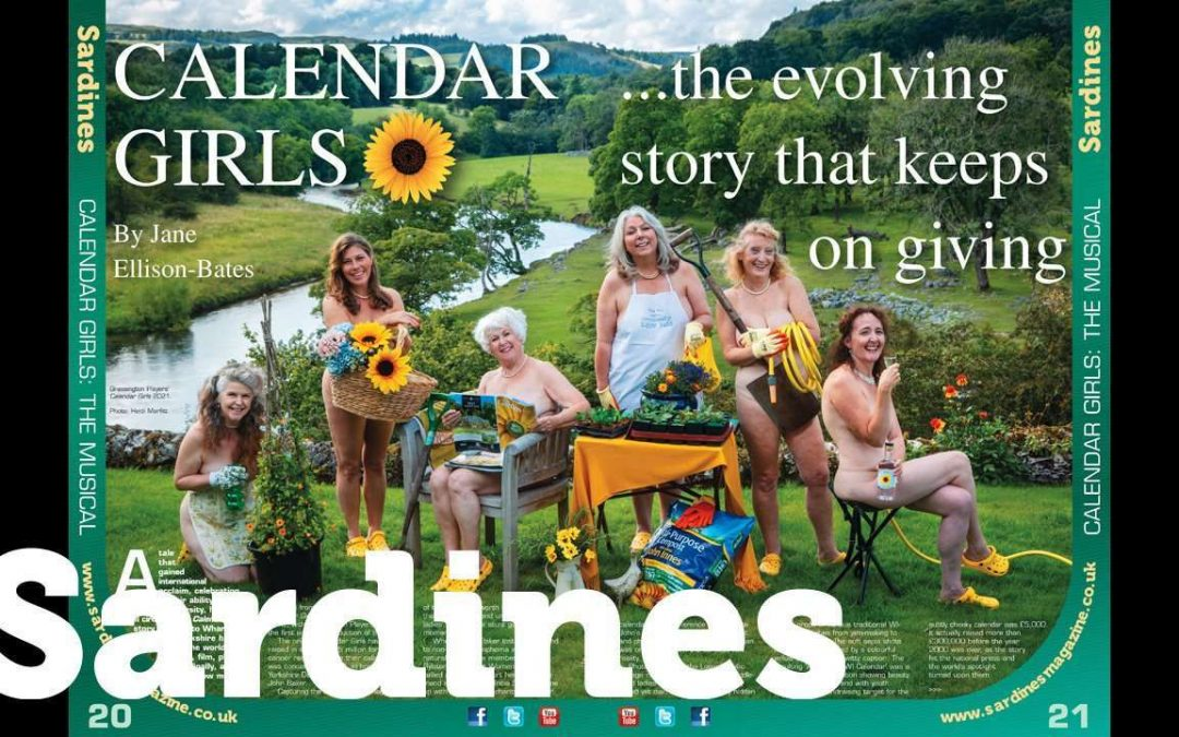Bring the risk down! To Yorkshire Sat for Calendar Girls: The Musical amateur premiere, and wasn't West End Live great!